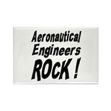 Aeronautical Engineers Rock ! Rectangle Magnet