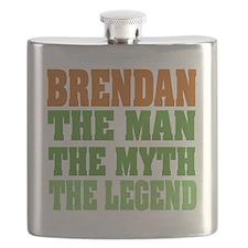 Brendan The Legend Flask