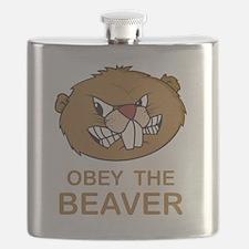 ObeyTheBeaver1Bk Flask