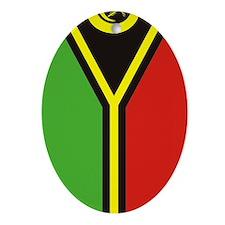Vanuatu (iTh4) Oval Ornament