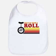 That's how I roll Bib