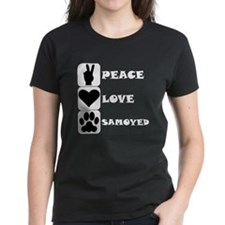 Peace Love Samoyed T-Shirt