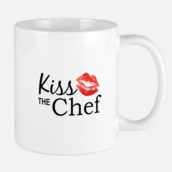Kiss the Chef Mugs