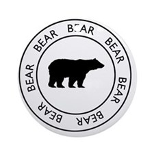 bear75 Round Ornament
