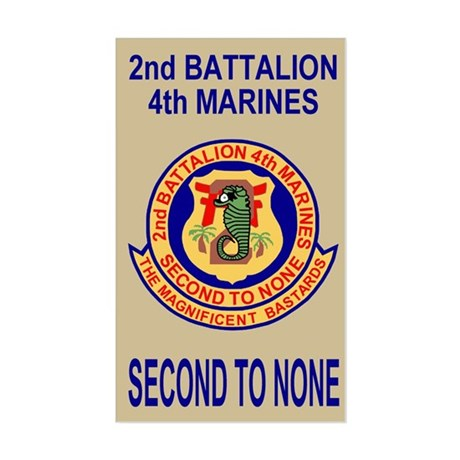 2nd Bn 4th Marines<BR>Sticker