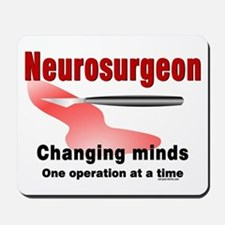 Neurosurgeon Red Mousepad