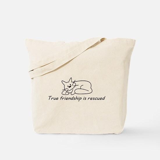 Cat Friendship Tote Bag
