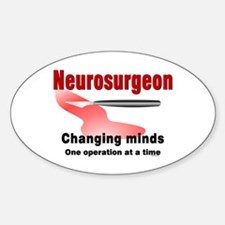 Neurosurgeon Red Decal