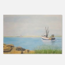 Fishing Boat Galilee RI Postcards (Package of 8)