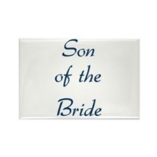 Son of the Bride Rectangle Magnet