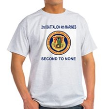 2nd Bn 4th Marines<BR>Tee Shirt 11 Old