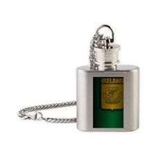 Irish Stl (iTh2) Flask Necklace