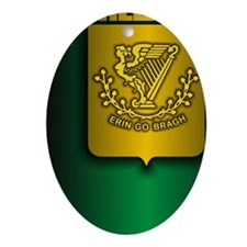 Irish Stl (iTh2) Oval Ornament