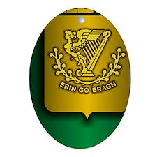 Irish Stl (iPh4 half) Oval Ornament