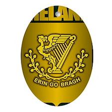 Irish Stl (Laptop Skin) Oval Ornament