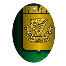 Irish Stl (iPad) Oval Ornament