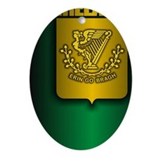 Irish Stl (iTh4) Oval Ornament