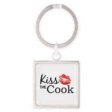 Kiss the Cook Keychains