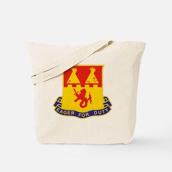 157 Field Artillery Regiment Tote Bag