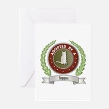 Adopted By Singapura Greeting Cards (Pk of 10)