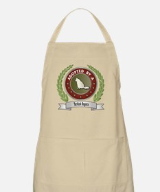 Adopted By Angora BBQ Apron