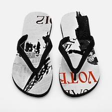 women vote 2012 a Flip Flops