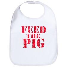 Feed the Pig Bib
