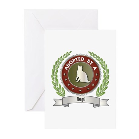 Adopted By Bengal Greeting Cards (Pk of 10)