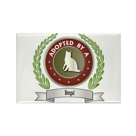 Adopted By Bengal Rectangle Magnet (10 pack)