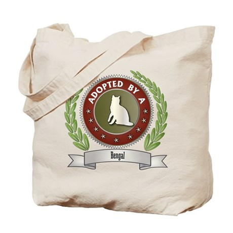 Adopted By Bengal Tote Bag