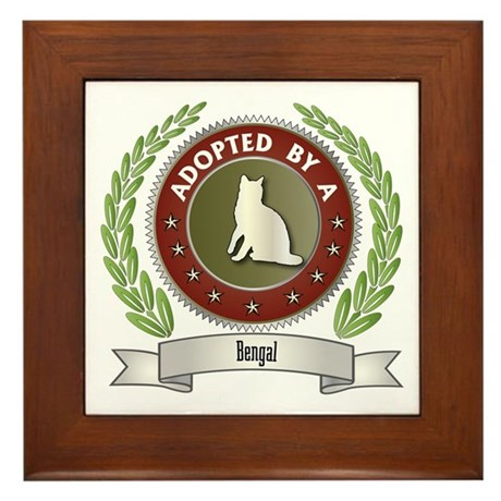 Adopted By Bengal Framed Tile