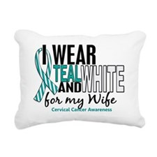 D WIFE Rectangular Canvas Pillow