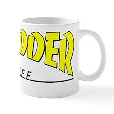 shredder_yellow_black Mug