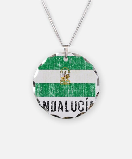 andalucia_fl3 Necklace Circle Charm