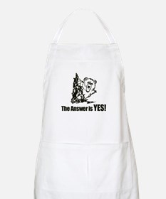 The Answer is Yes Apron