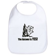 The Answer is Yes Bib