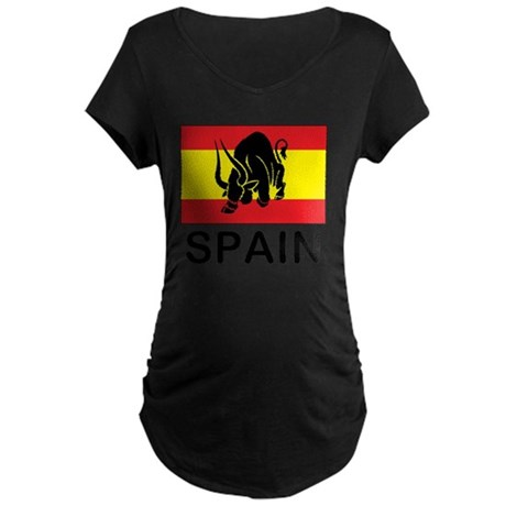 spain7 Maternity Dark T-Shirt