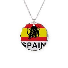 spain7 Necklace Circle Charm