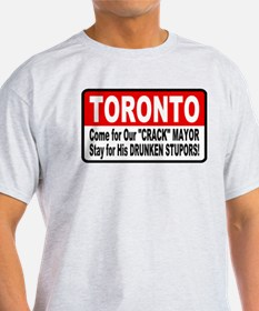 Toronto Crack Mayor Drunken Stupor T-Shirt