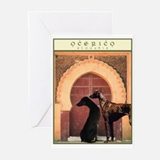 Ocerico Sloughis Greeting Cards (Pk of 10)