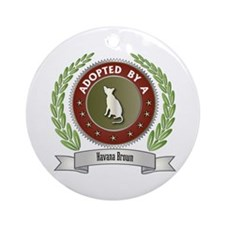 Adopted By Havana Ornament (Round)