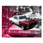 67 GTO-Classic Car Series Small Poster