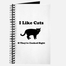 Cat Cooked Right Journal