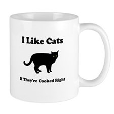 Cat Cooked Right Small Mug