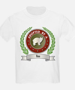 Adopted By Manx Kids T-Shirt