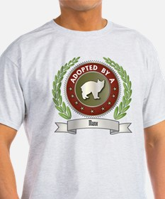 Adopted By Manx T-Shirt