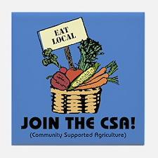 Join the CSA Tile Coaster
