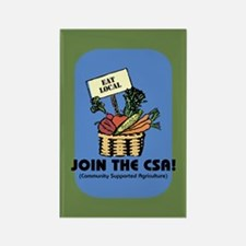 Join the CSA Rectangle Magnet