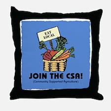Join the CSA Throw Pillow