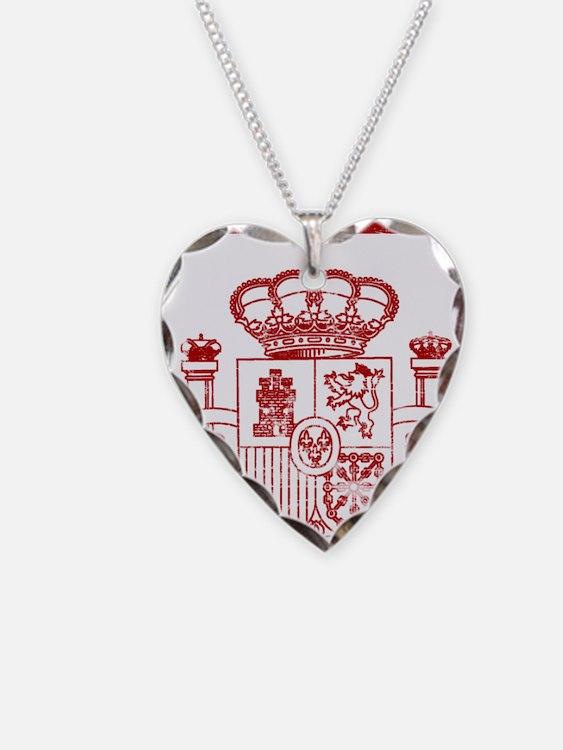 spain9 Necklace Heart Charm